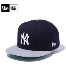 セール20%OFF!【メーカー取次】 NEW ERA ニューエラ 9FIFTY ニューヨーク・ヤンキース ネイビーXグレー 11308469 キャップ メンズ 帽子 メジャーリーグ 野球