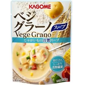 カゴメ ベジグラーノ じゃがいもの冷製スープ 200g 代引不可