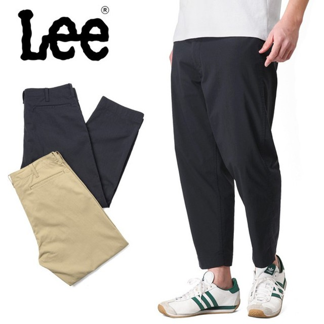 Lee リー CLASSICS LM4579 FRISKO ワイドパンツ メンズ ボトムス クロップドパンツ 涼しい ルーズ ブランド