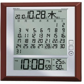 SEIKO 電波掛置時計 SQ421B [SQ421B]