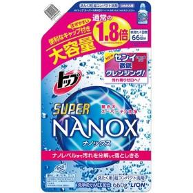 トップ スーパーNANOX(ナノックス) つめかえ用 大 660g 代引不可