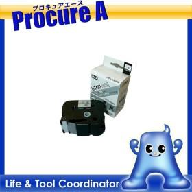 MAX ラベルプリンタ ビーポップミニ 36mm幅テープ つや消し銀地黒字LM-L536BM ▼006-6303マックス(株)