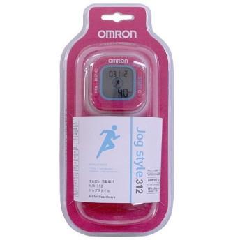 (セール)OMRON(オムロン)フィットネス 健康 ホームフィットネス(計測器 大型器具) 活動量計 Jog STYLE 312 PK HJA312 PK