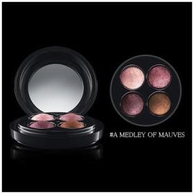MAC マック ミネラライズ アイ シャドウ X 4 #A MEDLEY OF MAUVES 0.5g x 4