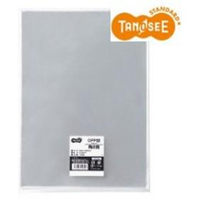 TANOSEE OPP袋 フラット 角2 240×332m 1パック(100枚)