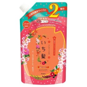 コーセーコスメポート いち髪 濃密W保湿ケアコンディショナー 詰替用 2回分