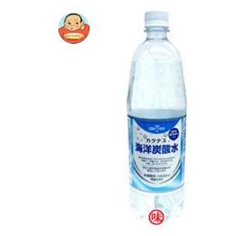 木村飲料 カクテス 海洋炭酸水 1000mlペットボトル×12本入