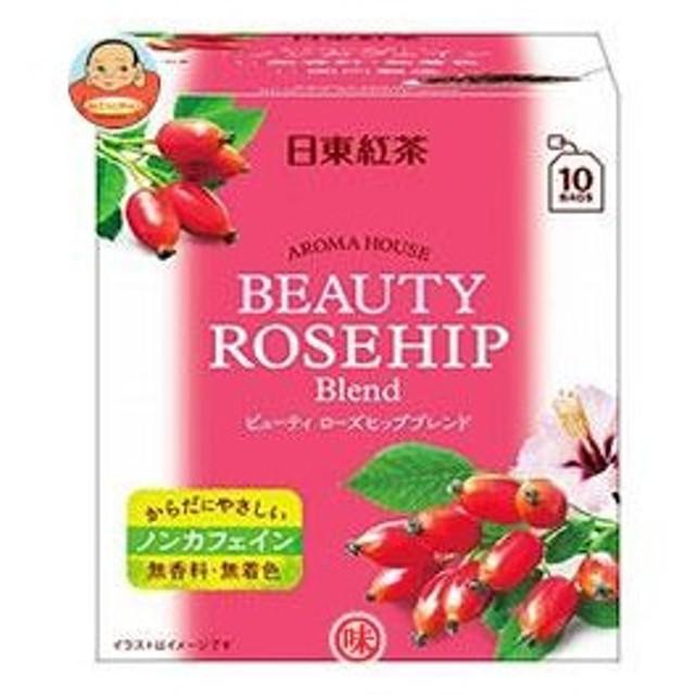三井農林 日東紅茶 アロマハウス ビューティ ローズヒップ 2g×10袋×36箱入