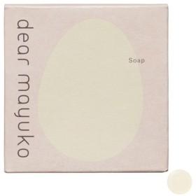 dear mayuko/ソープ(洗顔石鹸)(本体) 洗顔料