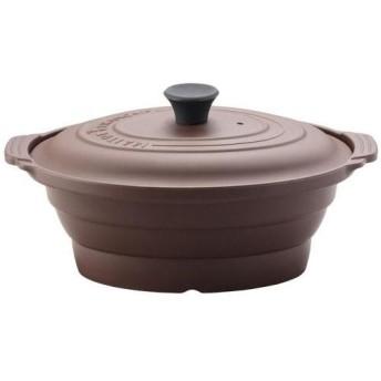 メトレフランセ グランオーバルスチーマー M ショコラ(茶) 881-M(BR)