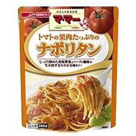 ママー パスタソース トマトの果肉たっぷりの ナポリタン (2人前・260g)