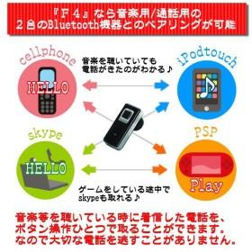 ブルートゥース携帯電話用ワイヤレスハンズフリーiPod等併用可能