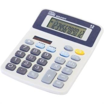 ナカバヤシ 電卓 デスクトップ スタンダード Sタイプ ECD-2101T 代引不可