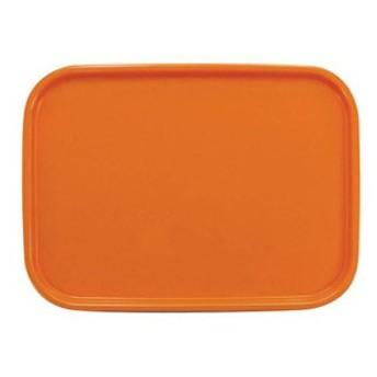 橋本達之助工芸 カラーコレクショントレー 角 L オレンジ ETL2008