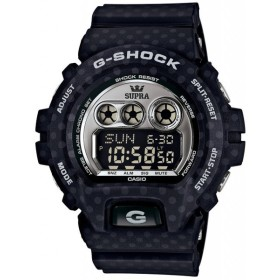 【箱痛みアウトレット】CASIO メンズ腕時計 G-SHOCK×SUPRA タイアップモデル GD-X6900SP-1 海外モデル ブラック