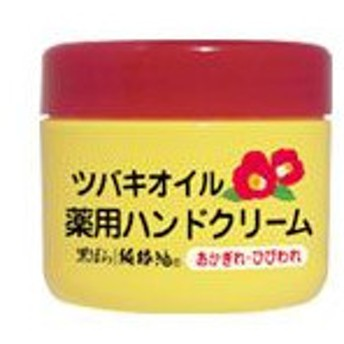 ツバキオイル 薬用ハンドクリーム 80g[配送区分:A]