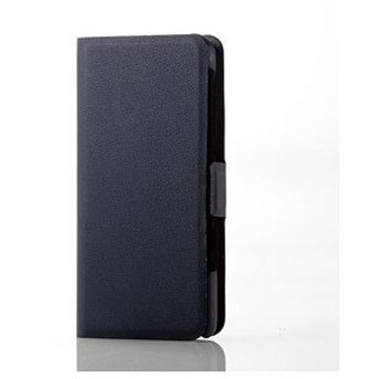 エレコム ウォークマン S310シリーズ用Ultra Slimソフトレザーカバー (ブラック) ELECOM AVS-S17PLFUBK 返品種別A