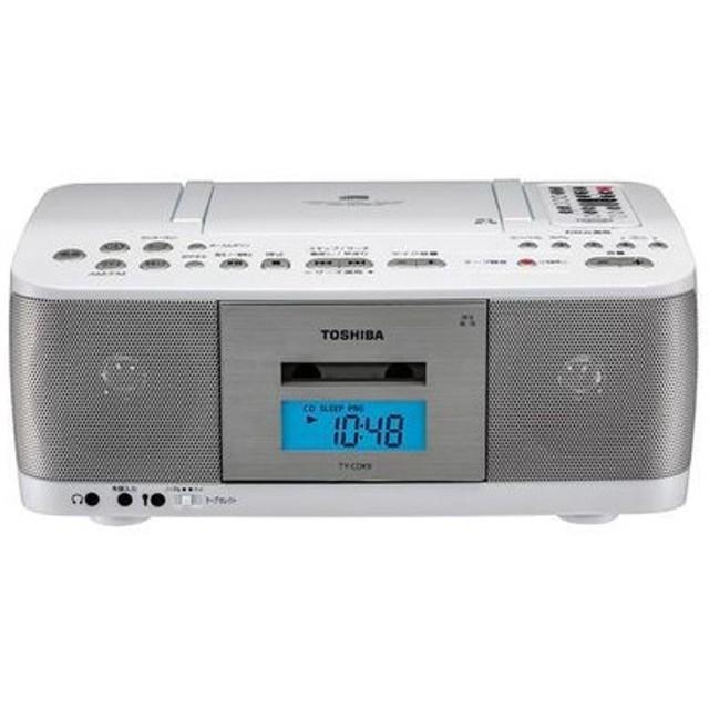 東芝 TY-CDK9-W CD対応ラジカセ【創業73年、新品不良交換対応】