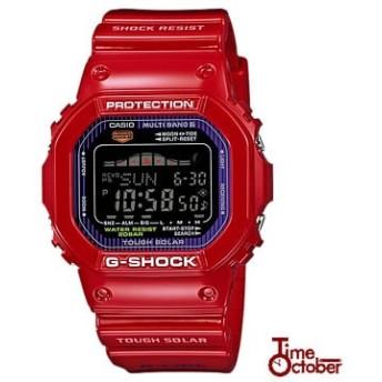 G-SHOCK Gショック CASIO カシオ G-LIDE Gライド ソーラー 電波 マルチバンド6 メンズ 腕時計 時計 GWX-5600C-4JF 国内正規品 国内モデル 赤 レッド