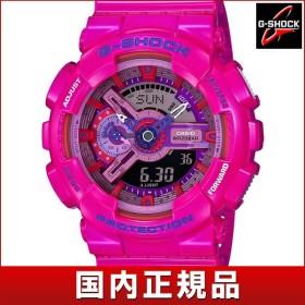ポイント10倍 CASIO カシオ G-SHOCK Gショック Crazy Colors クレイジー・カラーズ GA-110MC-4AJF クオーツ ピンク 国内正規品