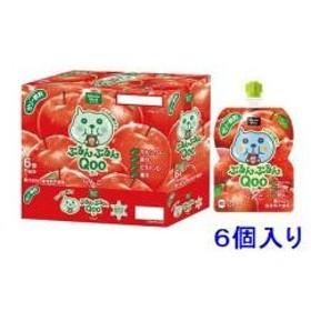 ミニッツメイド ぷるんぷるんQoo りんご味 125g×6個 コカ・コーラ MMプルンプルンク- リンゴX6 返品種別B