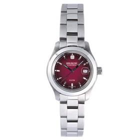 スイスミリタリー SWISS MILITARY 腕時計 レディース ボルドー ML182