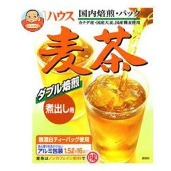 ハウス食品 麦茶 (煮出し用) 160g×20箱入