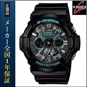 CASIO カシオ G-SHOCK Gショック BLACK BLUE ブラック ブルー GA-201BA-1AJF 耐磁時計 黒 メンズ 腕時計 クォーツ 国内正規品