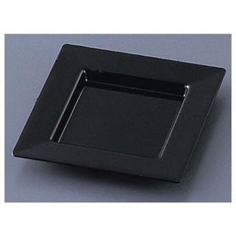 ソリア プレート75×75 25枚入 PS30303 ブラック NSL2003