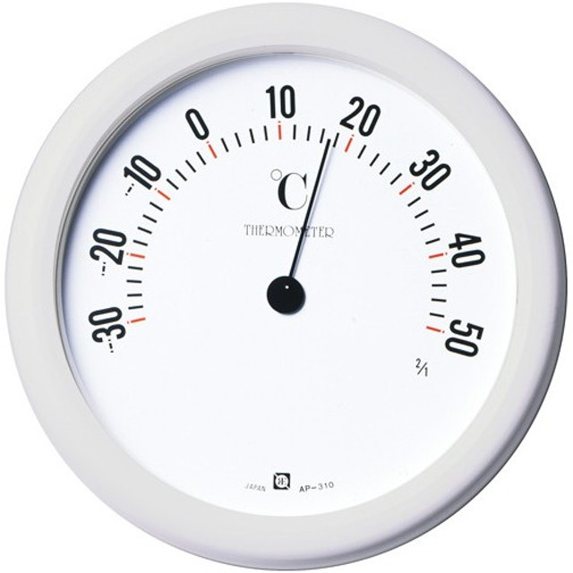 クレセル 温度計 壁掛け用 AP-310 代引不可