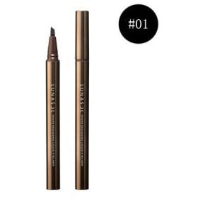 LUNASOL ルナソル シェイプ デザイニング リクイド アイライナー #01 Nuance Black 0.4ml