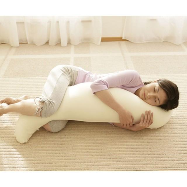 王様の抱き枕 極小ビーズ 水洗い ビーズクッション 人気 妊婦 横向き寝 快眠 安眠(B)敬老の日
