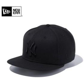 【メーカー取次】 NEW ERA ニューエラ 9FIFTY ニューヨーク・ヤンキース ブラックXブラック 11308476 キャップ メンズ 帽子 メジャーリーグ 野球