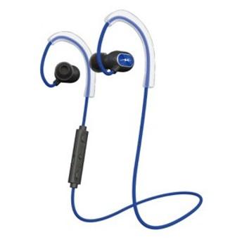 ラディウス Bluetooth対応ダイナミック密閉型カナルイヤホン(ブルー) radius new ear HP-S100BTB 返品種別A