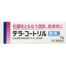 ジョンソンエンドジョンソン テラ・コートリル軟膏 (6g) 【指定第2類医薬品】 湿疹 皮膚炎 クリーム 軟膏 皮膚用薬