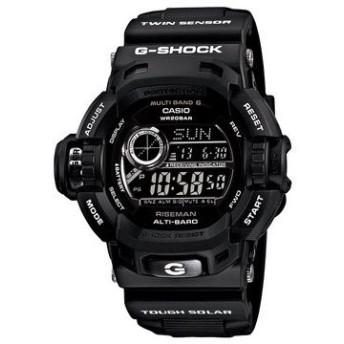 G-SHOCK Garish Black Gショック ジーショック ガリッシュブラック ライズマン 電波 ソーラー GW-9200BWJ-1JF 腕時計