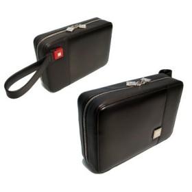 セカンドバッグ メンズ レザー/革 ブラック/黒 AA-SSH
