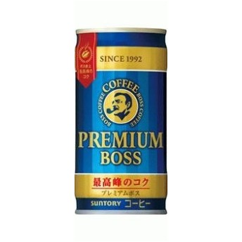 サントリー BOSS プレミアムボス 185ml×30本/1ケース