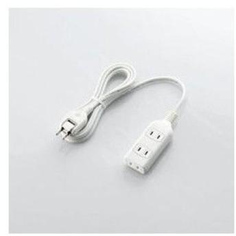ほこり防止シャッター付電源タップ