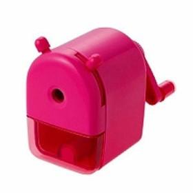 クツワ ミニ卓上えんぴつけずり ピンク RS026PK