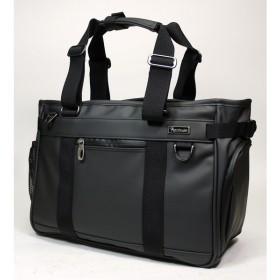 パスファインダー TPUビジネストートバッグ メンズ A4サイズ PF2401Bブラック/黒