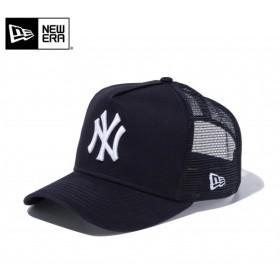 【メーカー取次】 NEW ERA ニューエラ 9FORTY D-Frame Trucker ニューヨーク・ヤンキース ネイビー 11120140 メッシュキャップ メンズ レディース 帽子