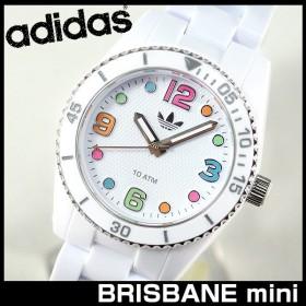 腕時計 アディダス adidas 腕時計 ADH2941 BRISBANE mini 白 ホワイト ブリスベン 腕時計 防水 レディース キッズ