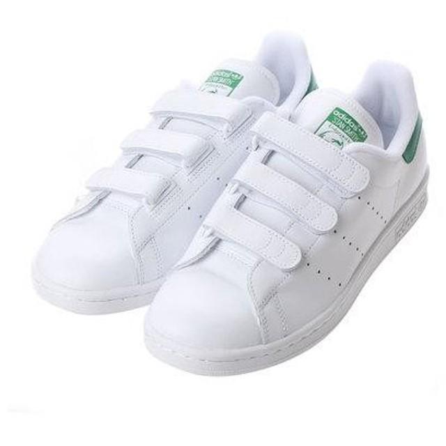 アディダス adidas STAN SMITH CF  スタン スミス シーエフ (WHITExGREEN)