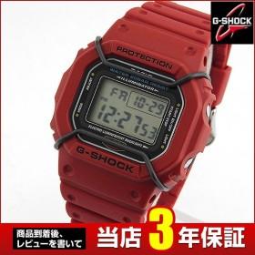 CASIO カシオ G-SHOCK ジーショック Gショック DW-5600P-4 海外モデル メンズ 男性用 腕時計 赤 レッド