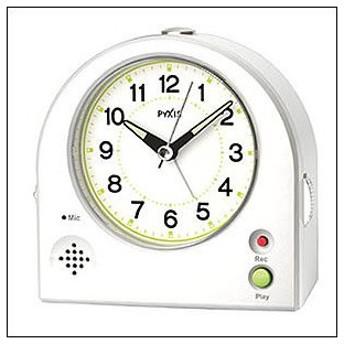 SEIKO セイコー クロック NR433W 目覚まし時計 PYXIS ピクシス