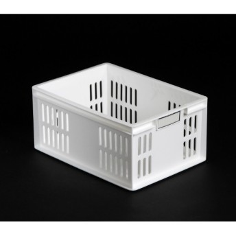 小物入れ ミニコンテナ(14.8×20.5×高さ9.5cm) ホワイト