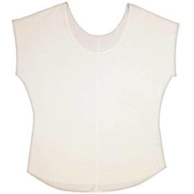 アイシルク シルクビックTシャツ シルクホワイト M-L 代引不可