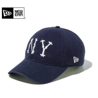 【メーカー取次】 NEW ERA ニューエラ 9TWENTY Leather Strap ウォッシュドコットン ニューヨーク・ハイランダースCT ネイビー 11440117 キャップ ブランド