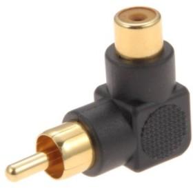 オーム電機 変換プラグ ストレート-L型 3個入 [品番] 01-2641 [型番] AP-2641